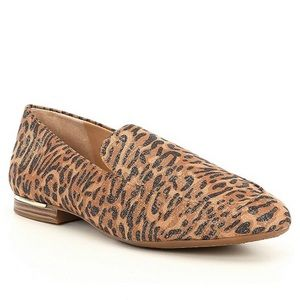 Alex Marie Leopard Print Loafers Slip-ons IN BOX